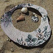 Sand On A Half Shell Art Print