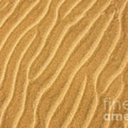 Sand Ripples Abstract Art Print