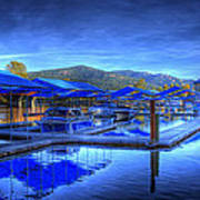 Sandpoint Marina And Power House 1 Art Print