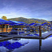 Sandpoint Marina And Power House 2 Art Print