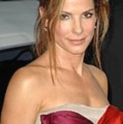 Sandra Bullock At Arrivals For All Art Print by Everett