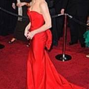Sandra Bullock Wearing Vera Wang Dress Art Print by Everett