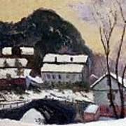 Sandviken Norway Art Print