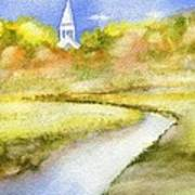 Sandwich Marsh Art Print