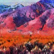 Sangre De Cristos -- Cezanne Art Print