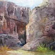 Santa Elena Canyon Big Bend Art Print