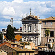 Santi Domenico E Sisto Art Print