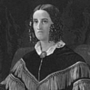 Sarah Childress Polk Print by Granger