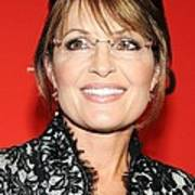 Sarah Palin At Arrivals For Time 100 Print by Everett