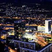 Sarajevo By Night Art Print