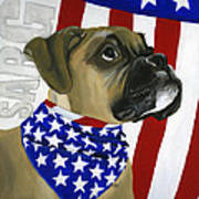 Sarg Art Print by Debbie Brown