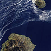 Satellite View Of The Prince Edward Art Print