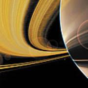 Saturn Glory Art Print