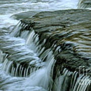 Sauble Falls Closeup Art Print by Chris Hill