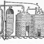 Savery's Engine Art Print