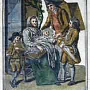Savoyard Family, C1797 Art Print