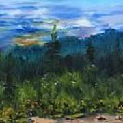 Sawbill Overlook Sunset Art Print