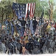 Sc: Emancipation, 1863 Art Print by Granger