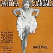 Scandals Songsheet, 1928 Art Print