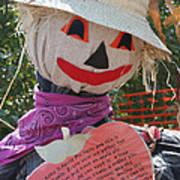 Scarecrow Andy Art Print