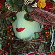 Scarecrow Bounty Art Print