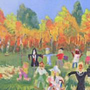 Scarecrow Contest Art Print