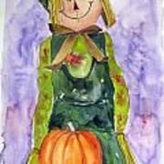 Scarecrow Print by John Smeulders