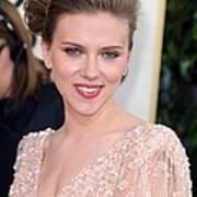 Scarlett Johansson At Arrivals For The Art Print