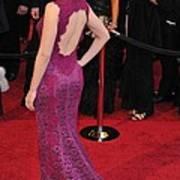 Scarlett Johansson Wearing Dolce & Art Print