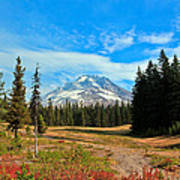Scenic Mt. Hood In Oregon Art Print