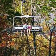 Scenic Ride Art Print