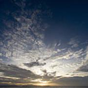 Scenic Sunset Over Malapascua Island Art Print