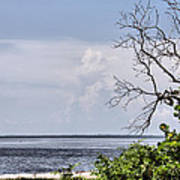 Scenic View At Emerson Point Art Print