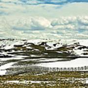 Scenic Wyoming Art Print