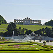 Schonbrunn Palace Gardens  Art Print