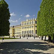 Schonbrunn Palace Vienna Austria Art Print