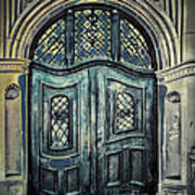 Schoolhouse Entrance Art Print by Jutta Maria Pusl