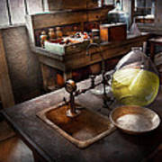 Science - Chemist - Scientific Discoveries  Art Print by Mike Savad