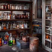 Science - Chemist - The Secret Of Life Art Print
