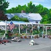Scimone's Farm Stand Art Print by Jack Skinner