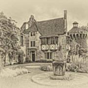 Scotney Castle Art Print