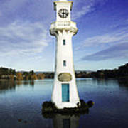 Scott Memorial Lighthouse 2 Art Print