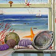 Sea Cottage  Art Print