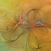 Sea Grass Sunset Art Print by Betsy Knapp
