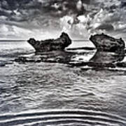 Sea Ripples Art Print