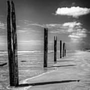Sea Sand And Steel Art Print