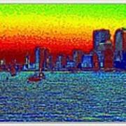 Sea Scape-3 Art Print