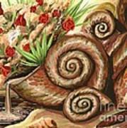 Sea Shells Of Life Art Print