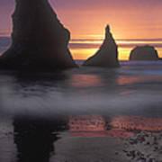 Sea Stacks Off The Oregon Coast Art Print