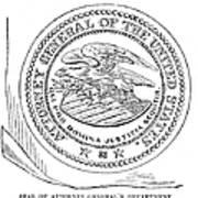 Seal: Attorney General Art Print